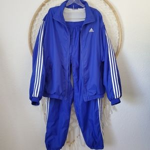 Adidas 80ies style Track Warm Up Jogger Suit XL
